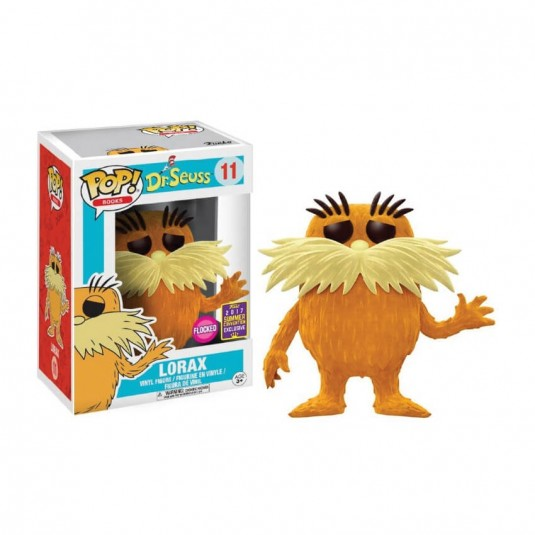 Funko Pop! Dr. Seuss - Flocked Lorax SDCC