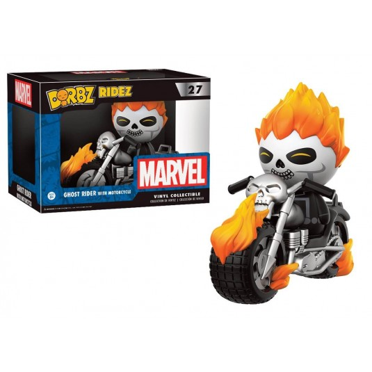 Funko Dorbz Ridez: Marvel - Ghost Rider with Motorcycle