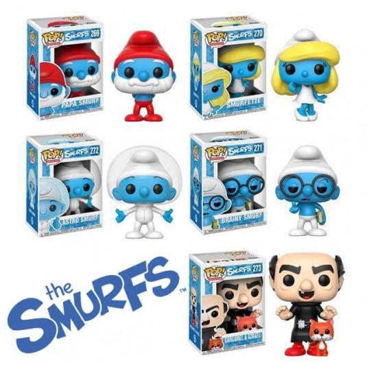 Funko Pop! The Smurfs Set