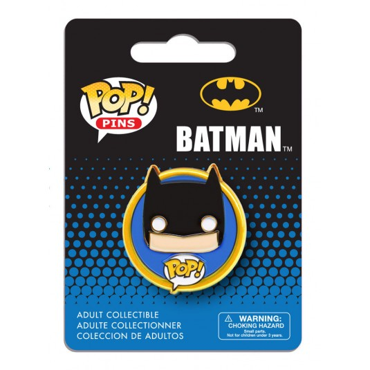 DC Comics Pop! Pin Badge: Batman