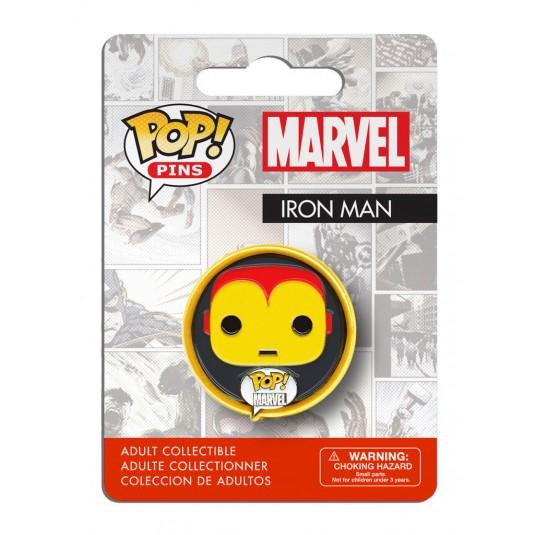 Marvel Comics Pop! Pin Badge: Iron Man