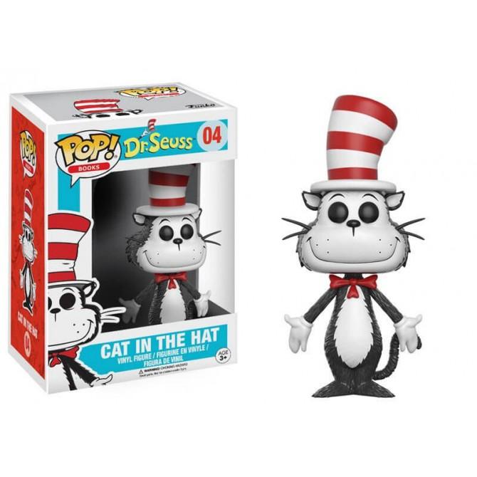 Funko POP! Books Dr. Seuss - Cat In The Hat Box