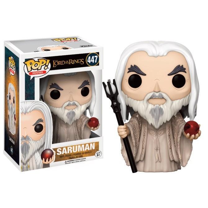 Funko Pop! Movies Lord of The Rings- Saruman Box