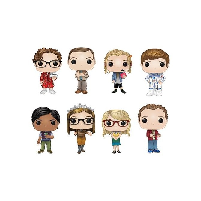 Funko Pop! Big Bang Theory - Set