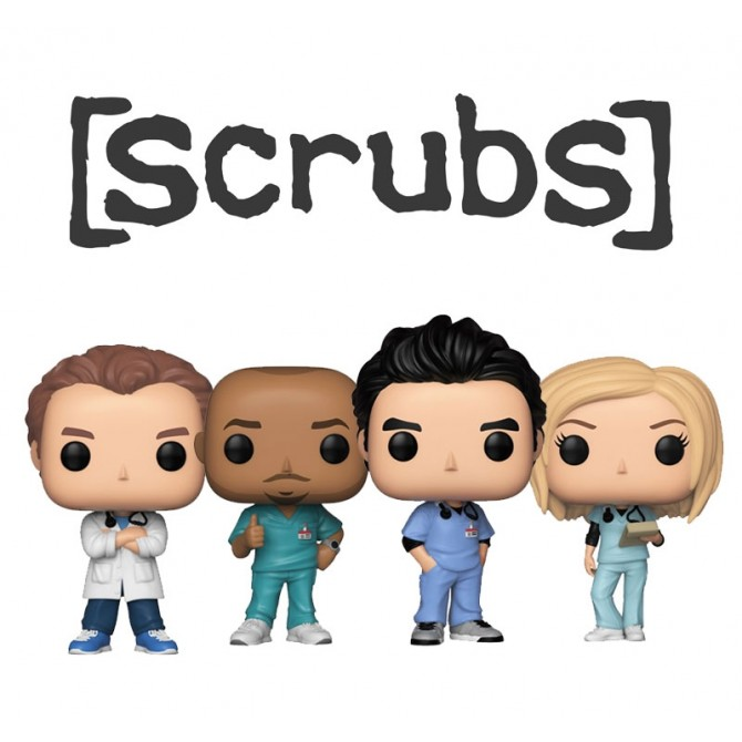 Funko Pop! Scrubs - Set