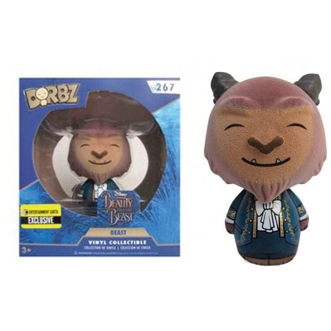 Funko Dorbz Beauty and the Beast - Beast Flocked LE