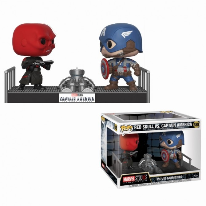 Funko Movie Moments Marvel: Captain America vs Red Skull