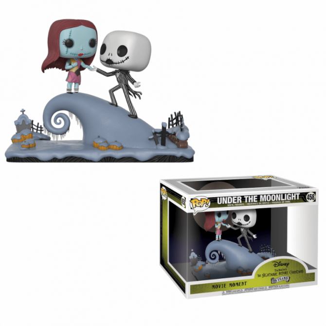 Funko Movie Moments The Nightmare Before Christmas: Jack and Sally on the Hill