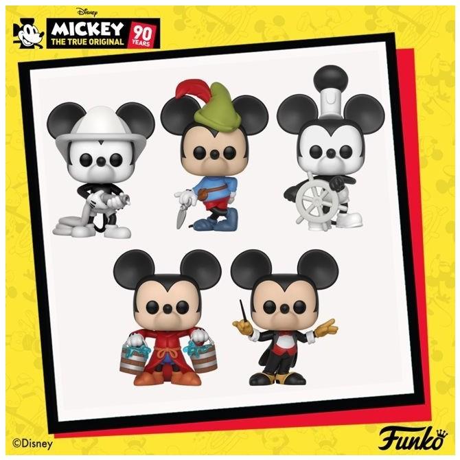 Funko Pop! Disney: Mickey's 90th Anniversary Set