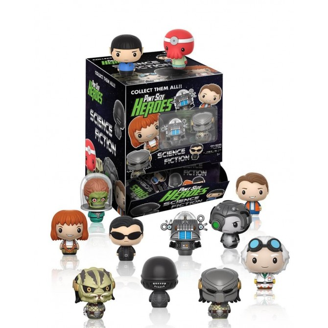 Funko Pint Size Heroes: Science Fiction Film & TV