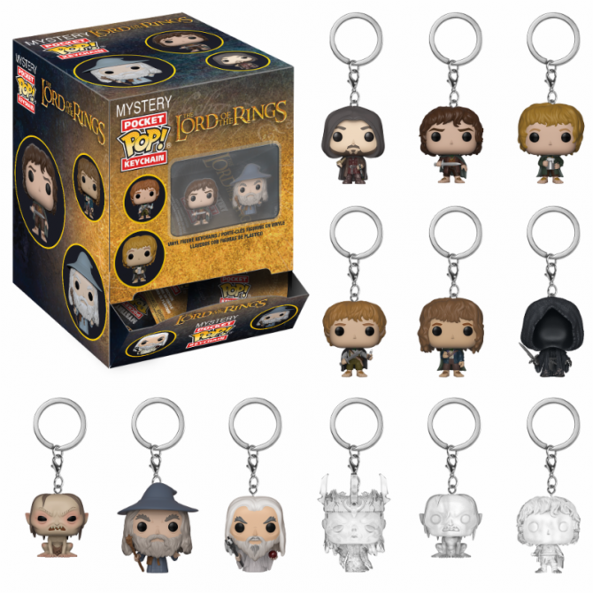 Funko Pocket Pop! Keychain Blindbags: Lord of the Rings