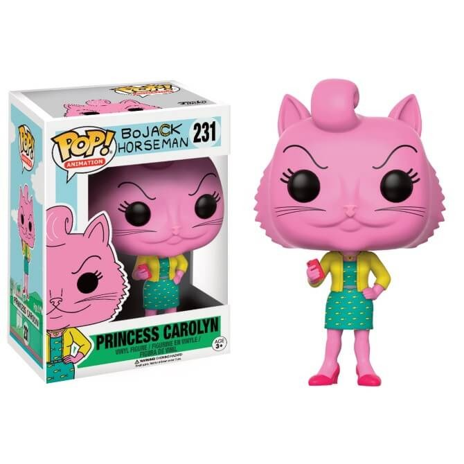 Funko Pop! Cartoons Bojack Horseman - Princess Carolyn Box