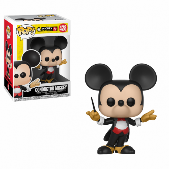 Funko Pop! Disney: Mickey's 90th Anniversary - Conductor Mickey
