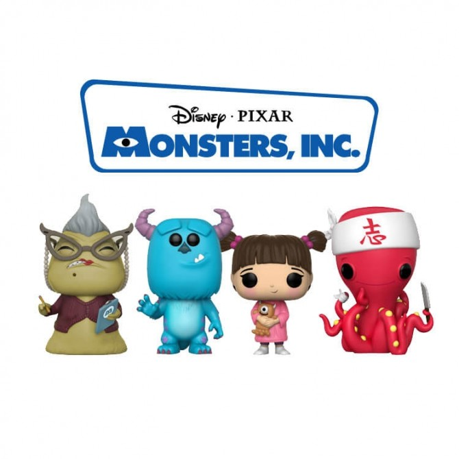 Funko Pop! Monsters Inc Set