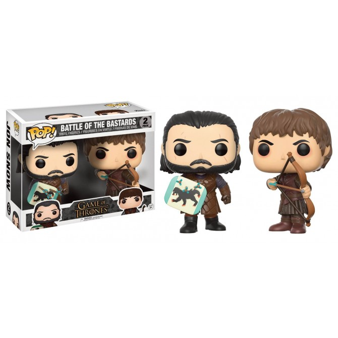 Funko Pop! TV: Game of Thrones - Jon Snow and Ramsay Bolton Duel 2-Pack