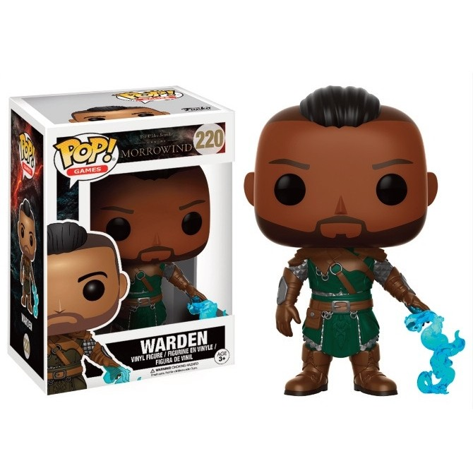 Funko Pop! Game: The Elder Scrolls Morrowind - Warden