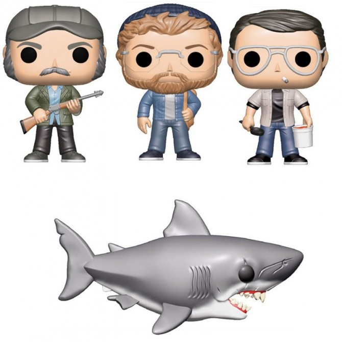 Funko Pop! Jaws Set
