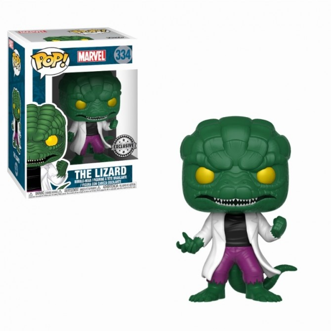 Funko Pop! Marvel: Comics - The Lizard Limited Edition