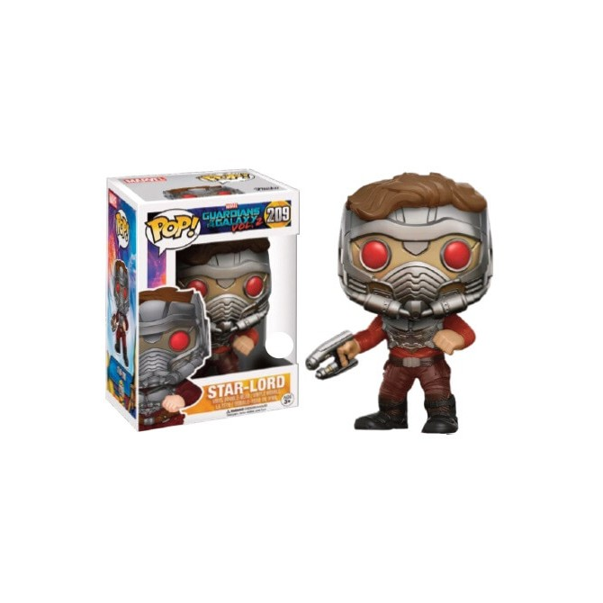 unko Pop! Marvel: Guardians of The Galaxy 2 - Star-Lord in Mask Limited Edition