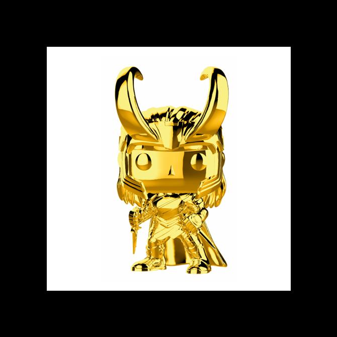 Funko Pop! Marvel Studios 10 - Loki (Chrome)