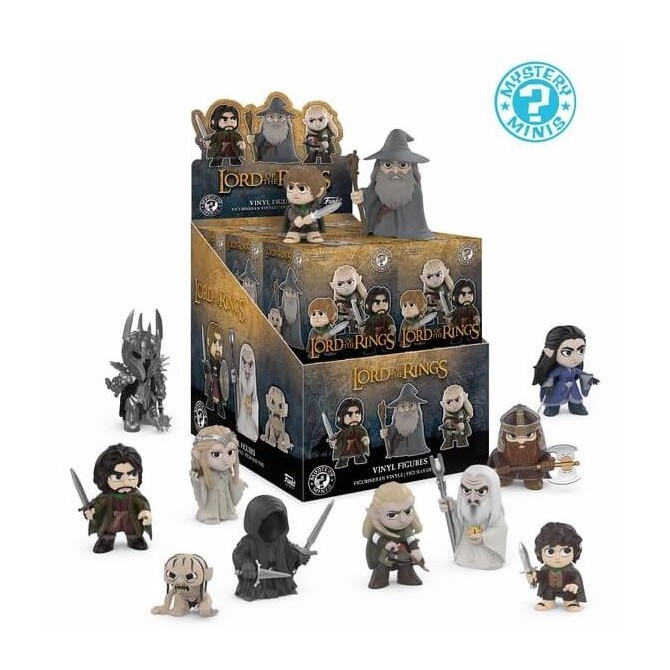 Mystery Minis: Lord of the Rings and The Hobbit