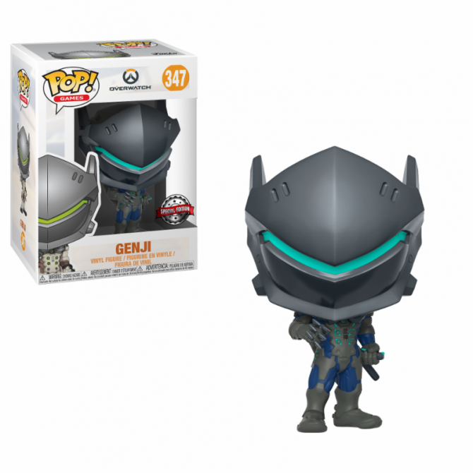Funko Pop! Overwatch- Genji Garbon Fiber Limited Edition