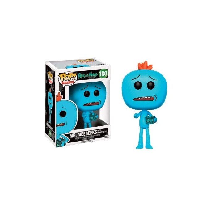 Funko Pop! Rick and Morty - Mr. Meeseeks With Meeseeks Box Limited Edition