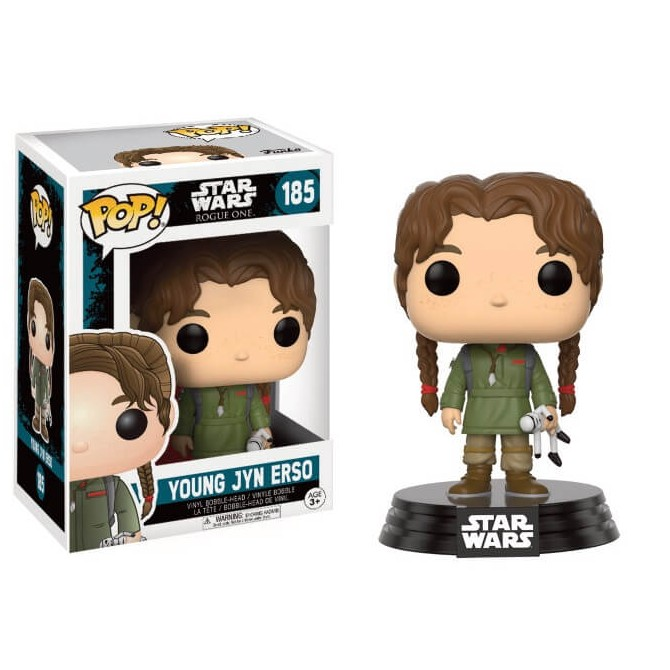 Funko Pop Star Wars Rogue One Young Jyn box