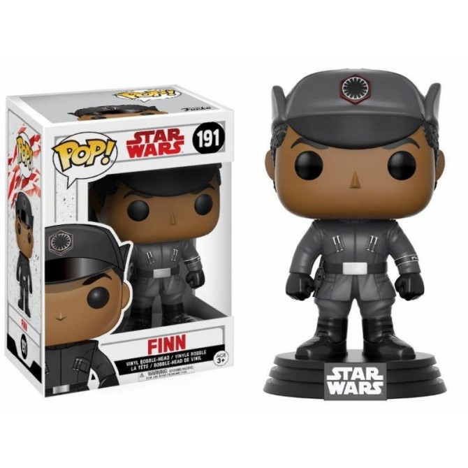 Funko Pop! Star Wars The Last Jedi - Finn box