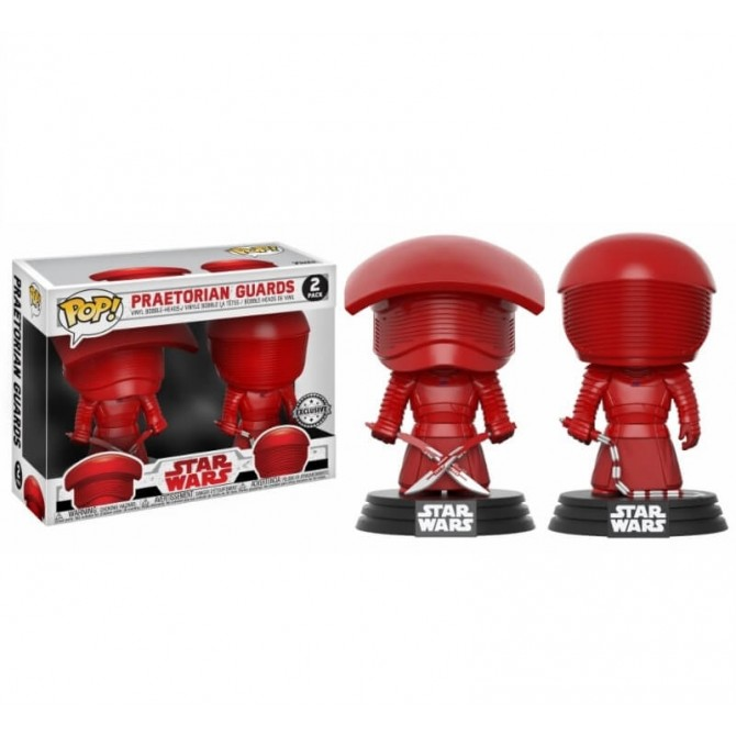 Funko Pop! Star Wars The Last Jedi - Praetorian Guards 2-Pack Limited Edition