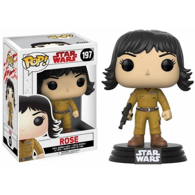 Funko Pop! Star Wars The Last Jedi - Rose box