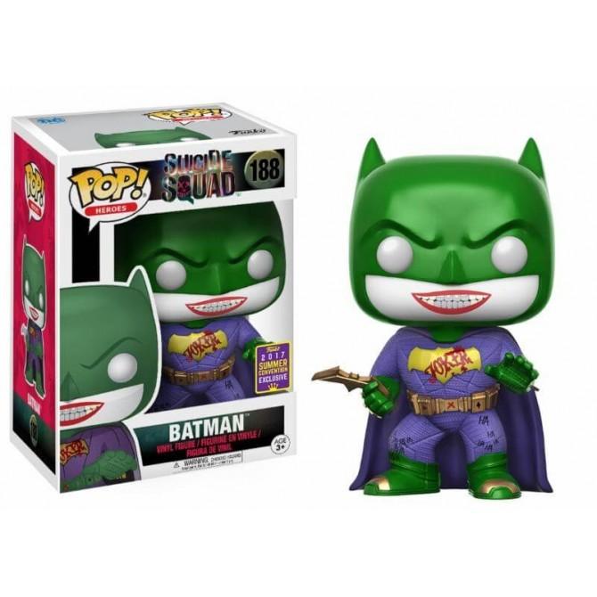Funko Pop! Suicide Squad - Joker/Batman SDCC
