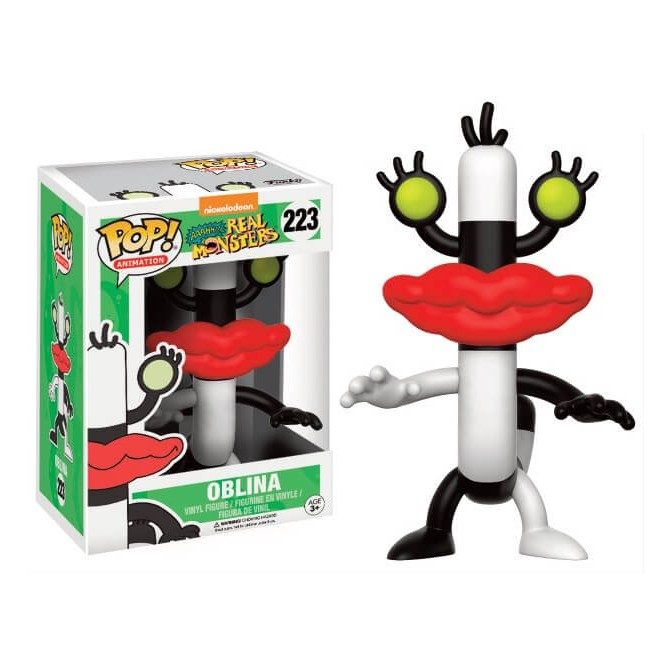 Funko Pop! TV: Nickelodeon 90's TV Aaahh!!! Real Monsters - Oblina box