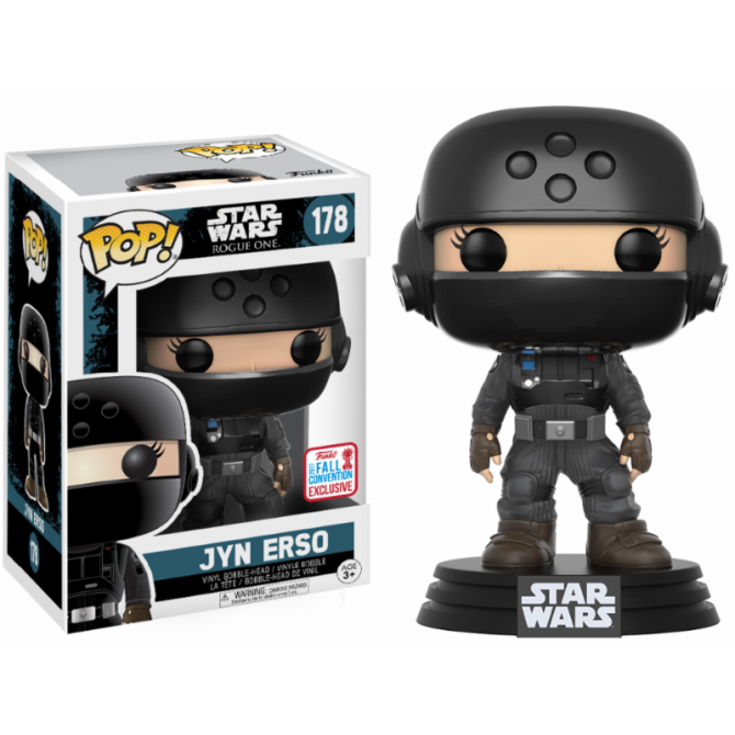 Funko Pop! Rogue One - Jyn Disguise with Helmet NYCC