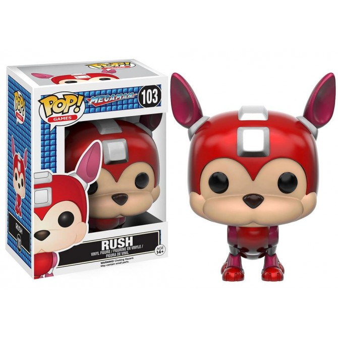 Pop! Games: MegaMan - Rush Box
