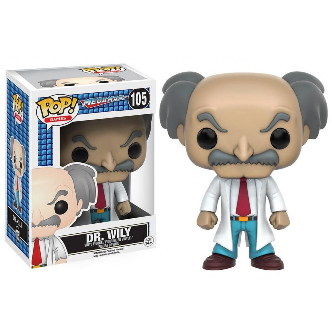 Pop! Games: MegaMan - Dr. Wily Box