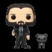 Funko Pop! John Wick - John (Black Suit) with Dog [BOX DAMAGE]