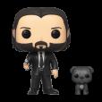 Funko Pop! John Wick - John (Black Suit) with Dog
