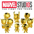 Funko Pop! Marvel Studios 10 Set (Chrome set