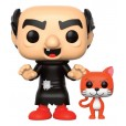 Funko Pop! The Smurfs - Gargamel with Azrael