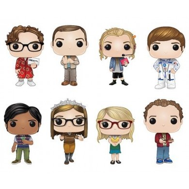 Funko Pop! Big Bang Theory Set