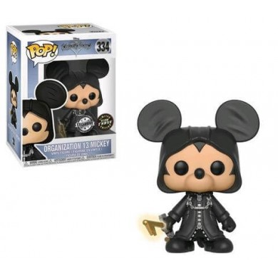 Funko Pop! Kingdom Hearts - Organization 13 Mickey Limited Edition Chase