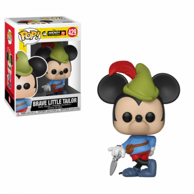 Funko Pop! Disney: Mickey's 90th Anniversary - Brave Little Tailor