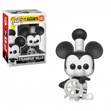 Funko Pop! Disney: Mickey's 90th Anniversary - Steamboat Willie