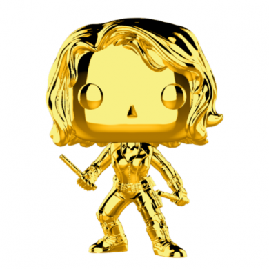 Funko Pop! Marvel Studios 10 - Black Widow (Chrome)