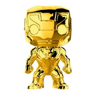 Funko Pop! Marvel Studios 10 - Iron Man (Chrome)
