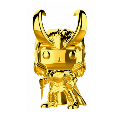Funko Pop! Marvel Studios 10 - Loki (Chrome)