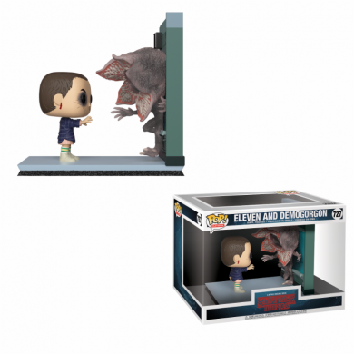 Funko Movie Moments Stranger Things - Eleven & Demogorgon