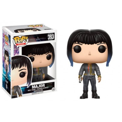 Funko Pop! Movies: Ghost in The Shell - Major in Bomber Jacket Limited Edition