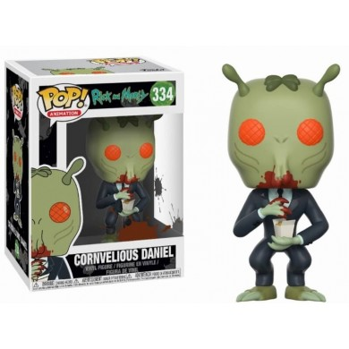 Funko Pop! Rick and Morty - Cornvelious Daniel with Mulan Sauce
